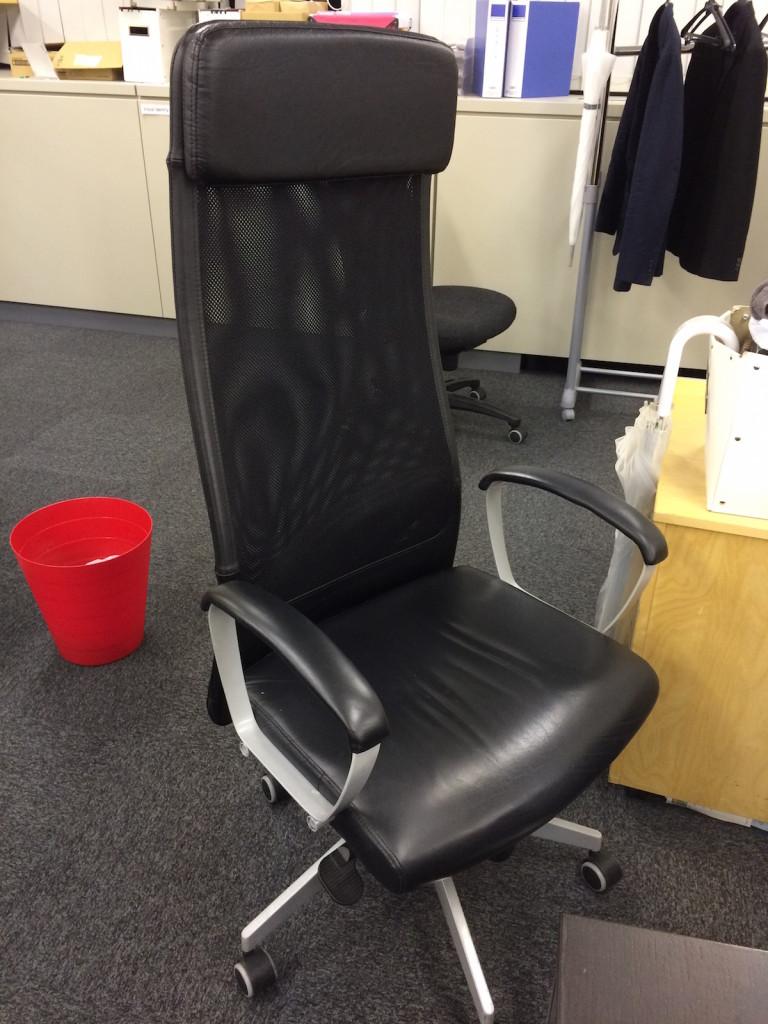 役員の椅子